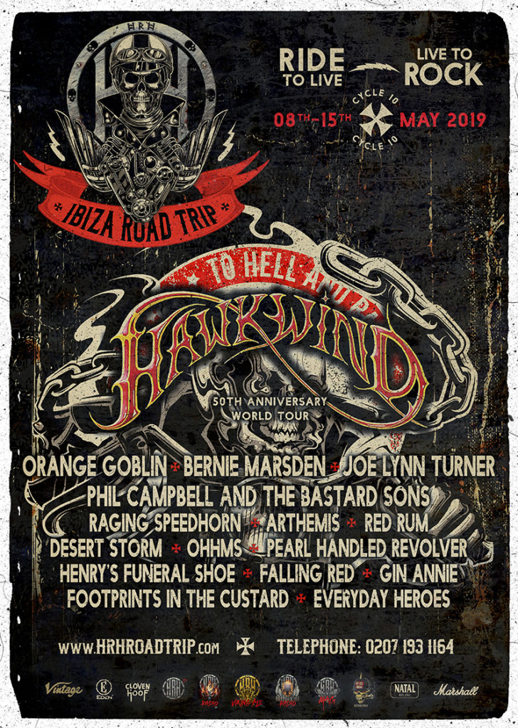 HARD ROCK HELL PRESENTS HRH ROADTRIP X WITH BIGGEST LINE-UP